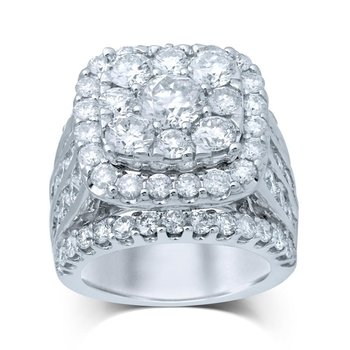 14K 8.00Ct Diamond Bridal Ring