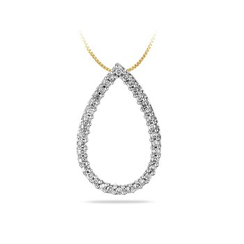 14K YG Diamond Fashion Pendant