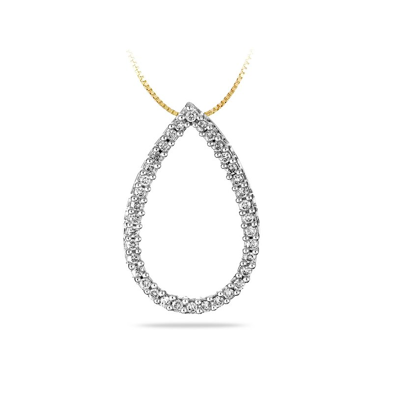 BB Impex 14K YG Diamond Fashion Pendant
