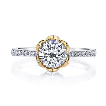 Diamond Engagement Ring 0.18 ct tw
