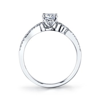 25388 Diamond Engagement Ring 0.16 ct tw