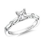 Valina Solitaire mounting .02 tw., 5/8 ct. Princess center.