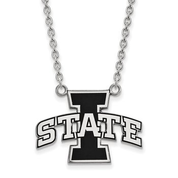 Sterling Silver Iowa State University NCAA Necklace