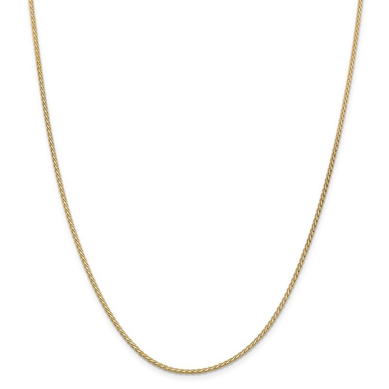 Quality Gold 14k 1.8mm Flat Wheat Chain