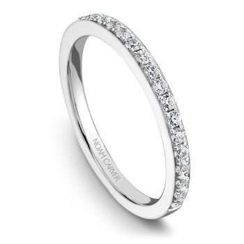 Noam Carver Wedding Band B018-02B