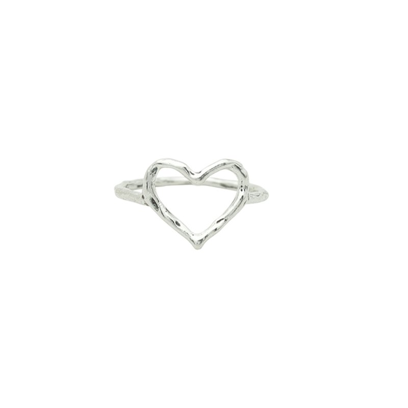 Waxing Poetic Ever Open Heart Ring - Size 6