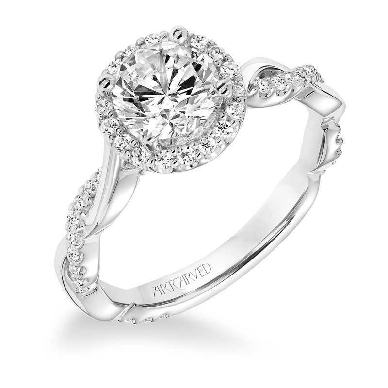 ArtCarved Kinsley Diamond Engagement Mounting