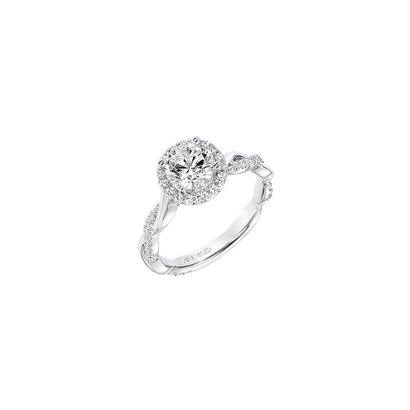 ArtCarved ArtCarved Kinsley Diamond Engagement Mounting