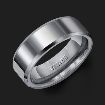 Tungsten Mens Wedding Band