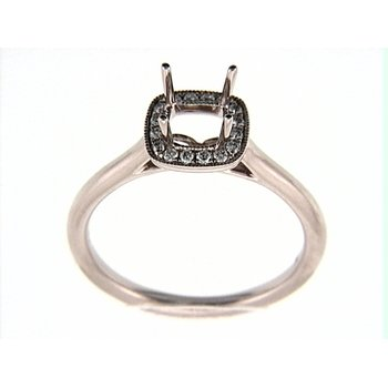14K ROSEGOLD RING 16RD 0.11CT