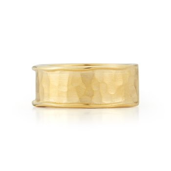 14K-Y 8mm GALLERY RING