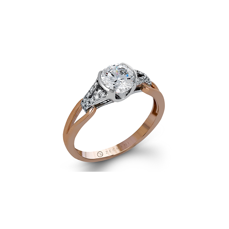 Zeghani ZR1269 ENGAGEMENT RING