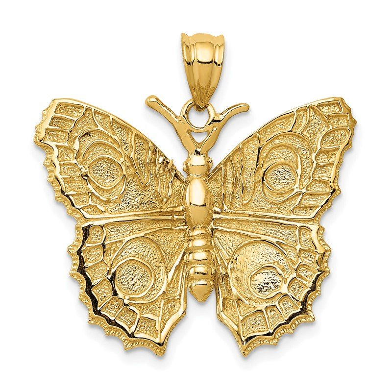 Quality Gold 14k Butterfly Charm