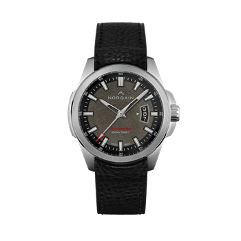 Independence 19 - Old Steel Finish on Leather Strap Watch (Limited Edition 300 Pieces)