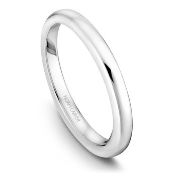 Noam Carver Wedding Band B036-02B