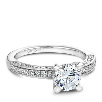 Noam Carver Vintage Engagement Ring B003-01A