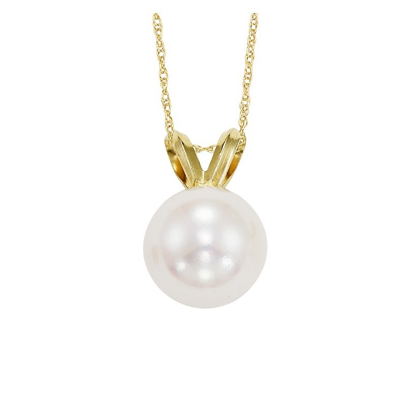 Gemsone Cultured Pearl Pendant 7.5 mm