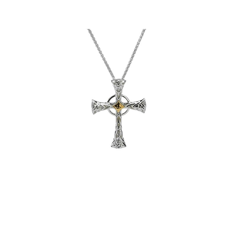 Keith Jack Celtic Cross Pendant Small