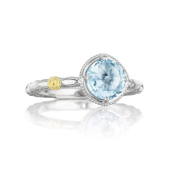 Simply Gem Ring featuring Sky Blue Topaz