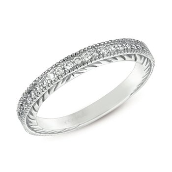White Gold Diamond Band