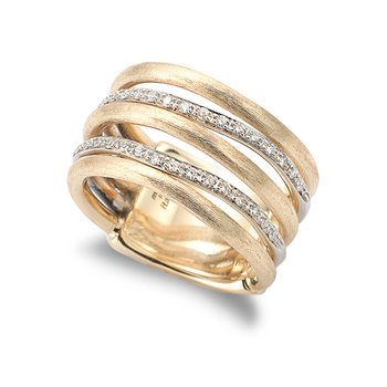 Diamond Jaipur Link Fashion Ring
