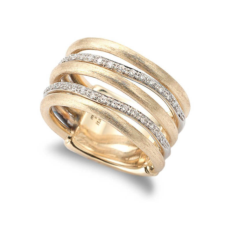 Marco Bicego Diamond Jaipur Link Fashion Ring