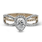 Zeghani ZR1693 ENGAGEMENT RING