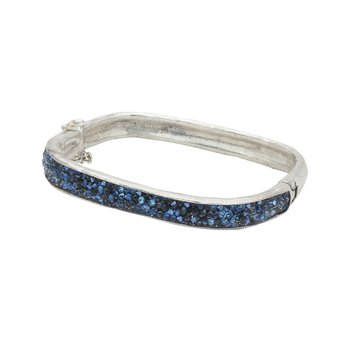 Kristal Atmosphere Square Hinge Bangle