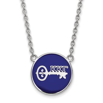 Sterling Silver Kappa Kappa Gamma Greek Life Necklace