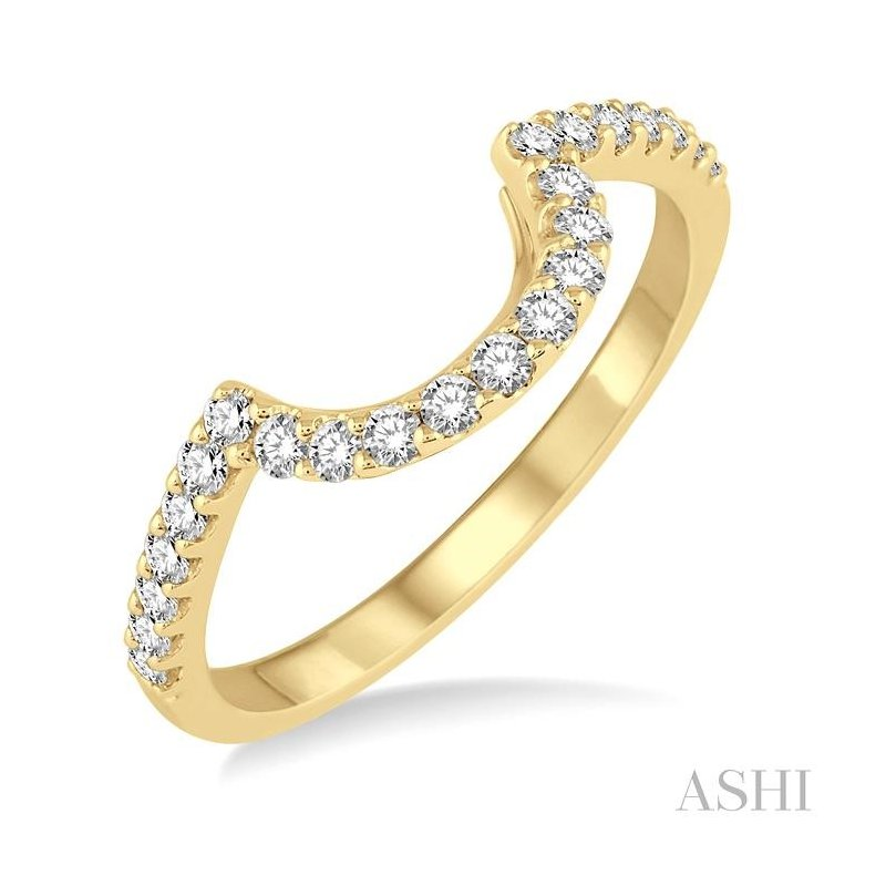 ASHI diamond wedding band