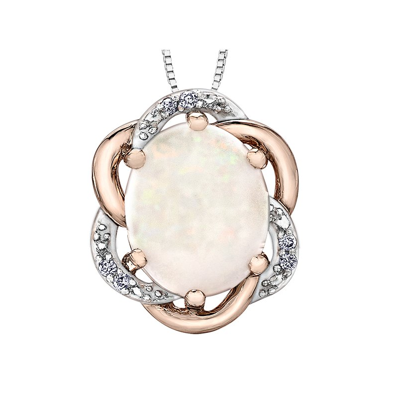 Timeless Beauty Opal Pendant
