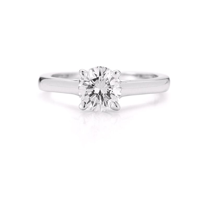Paramount Gems 7/8ct Solitaire Engagement Ring