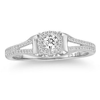 14K 0.25Ct Diamond Ring