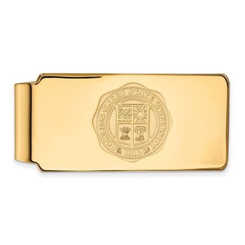 Gold Bowling Green State University NCAA Money Clip