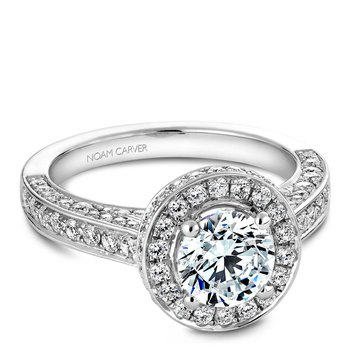 Noam Carver Vintage Engagement Ring B030-01A