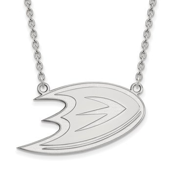 Sterling Silver Anaheim Ducks NHL Necklace