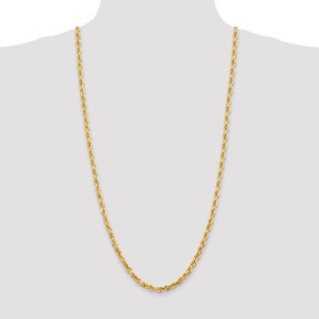 14k 5.0mm D/C Quadruple Rope Chain