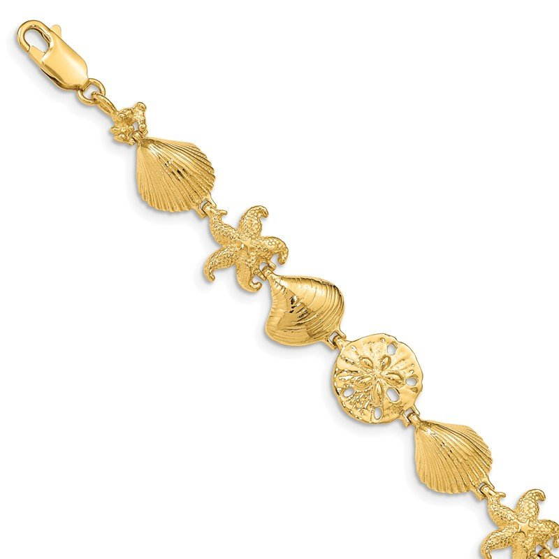 Fine Jewelry by JBD 14k Sea Life Bracelet