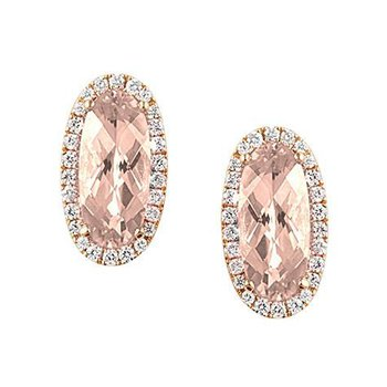 Champagne Sapphire Earrings-CE3828RCS