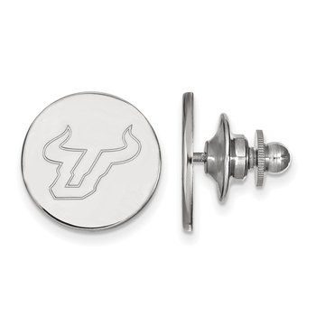 Sterling Silver University of South Florida NCAA Lapel Pin