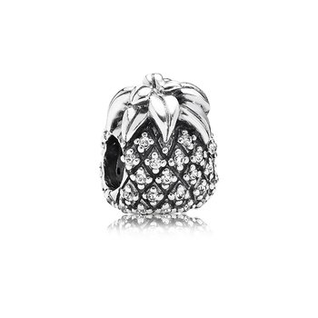 Sparkling Pineapple, Clear CZ