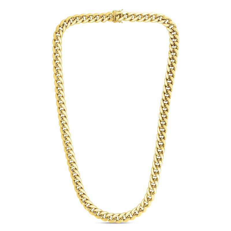 Royal Chain 10K Gold 1.75mm Semi-Solid Classic Miami Cuban