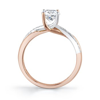 MARS 27128 Engagement Ring, 0.05 Ctw.