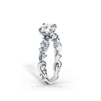 Home Try On Poetic Solitare Engagement Ring