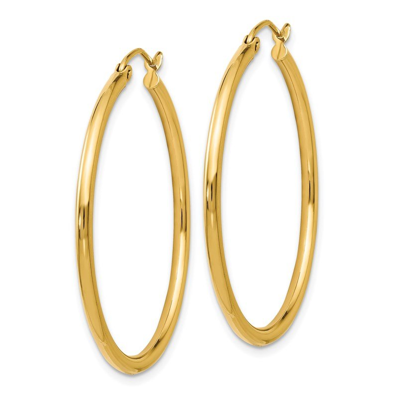 Leslie's Leslie's 14K Polished 2mm Hoop Earrings