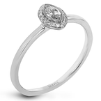 Simon G LR1170-MQ ENGAGEMENT RING
