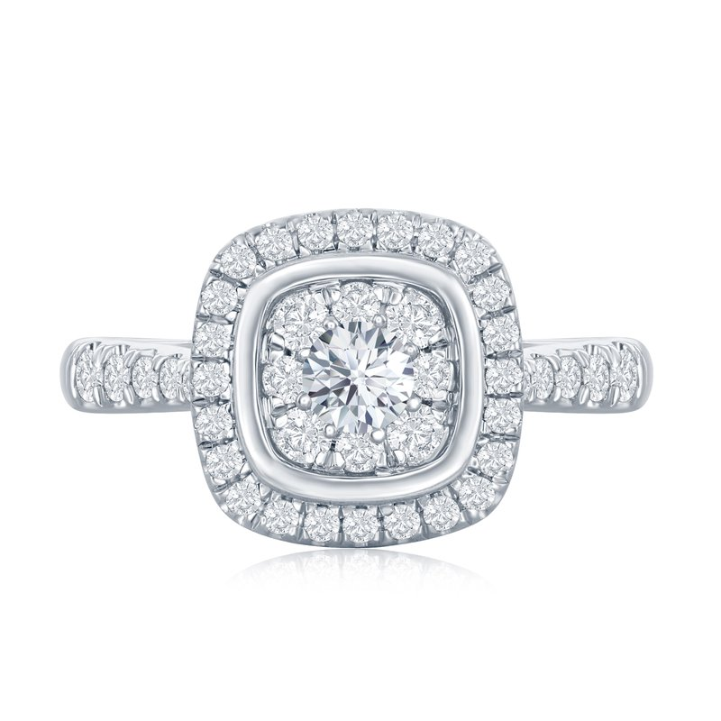Veer Diamonds MELODY CUSHION RING