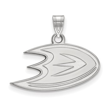 Sterling Silver Anaheim Ducks NHL Pendant