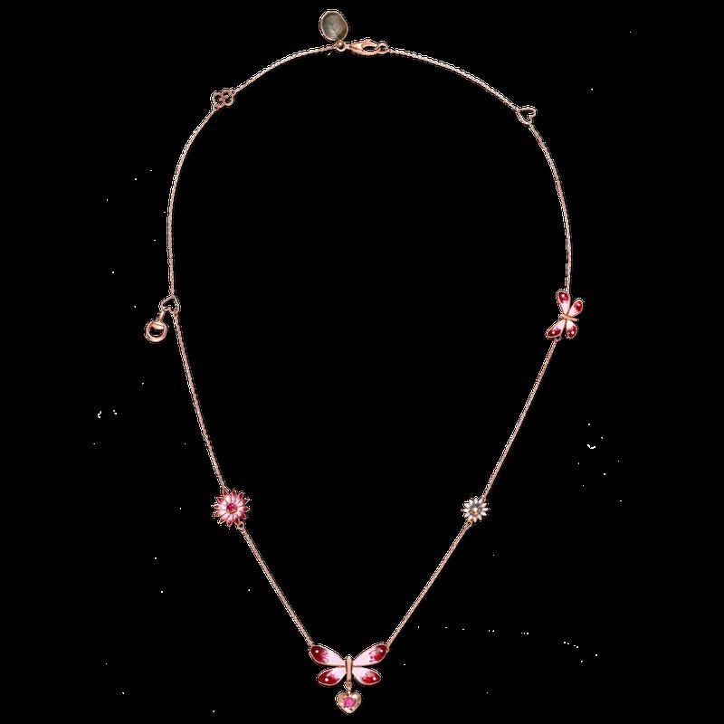 b0b3cb37b27 Gucci Fine Jewelry Gucci Flora Necklace. Stock   YBB389145001