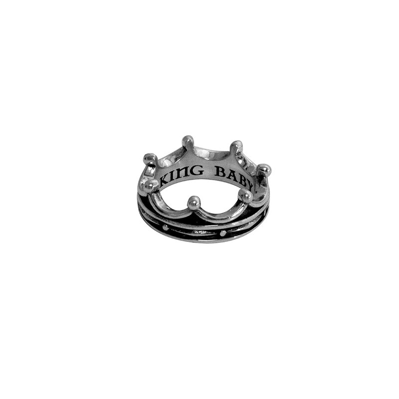 King Baby Toggle Crown Ring